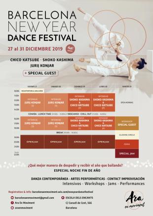 Global Dance Festival 2020.Bcn New Year Dance Festival 4 Ed 2019 2020 Contact