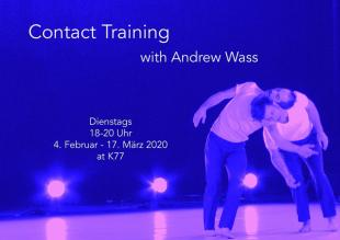 Contact Training with Andrew Wass - K77 - Berlin, Germany